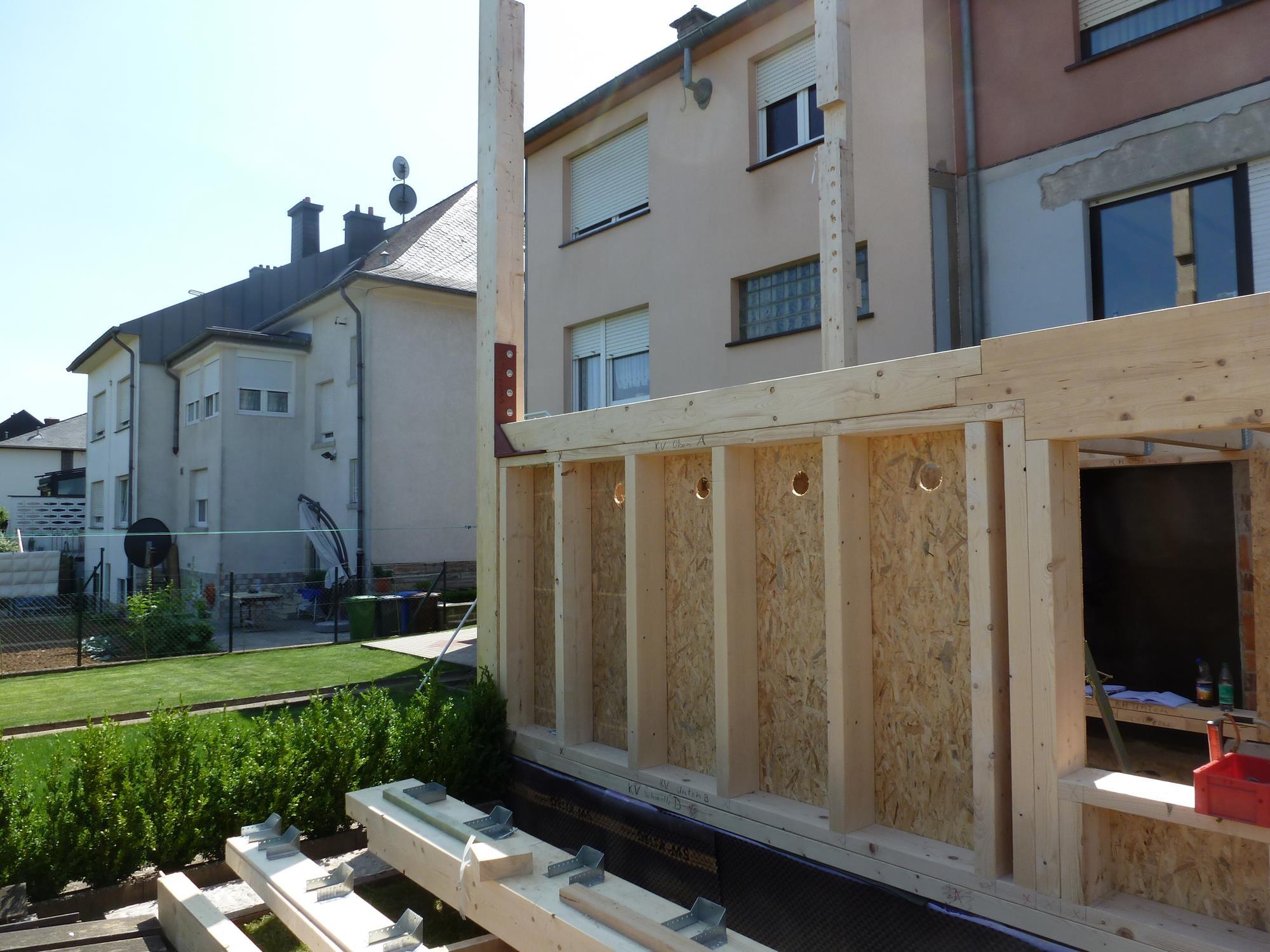 Sur L Vations Et Annexes Construction En Ossature Bois